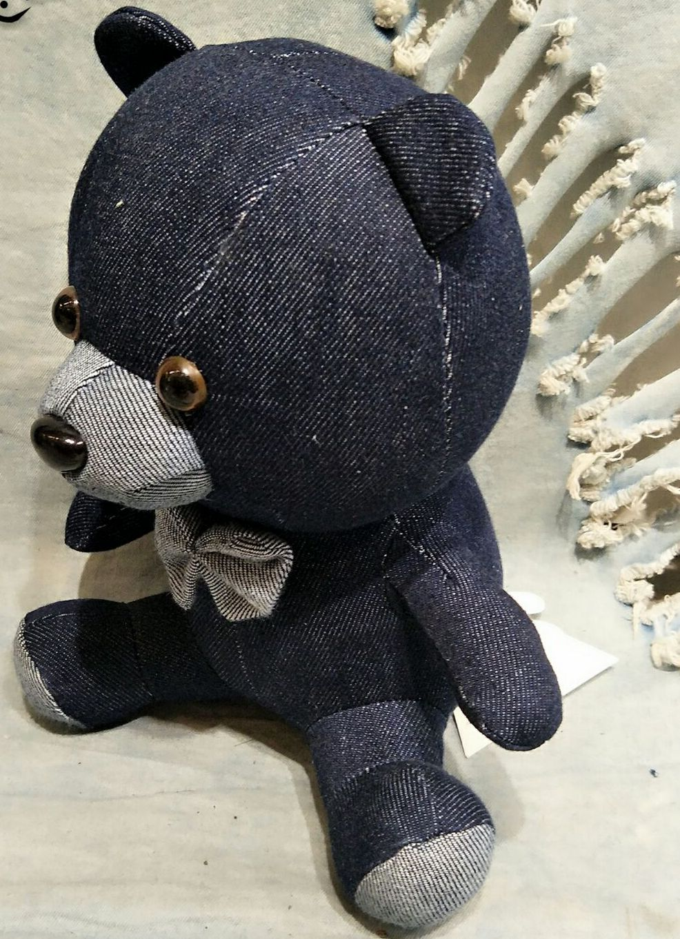 A True Blue Teddy Bear for Dad