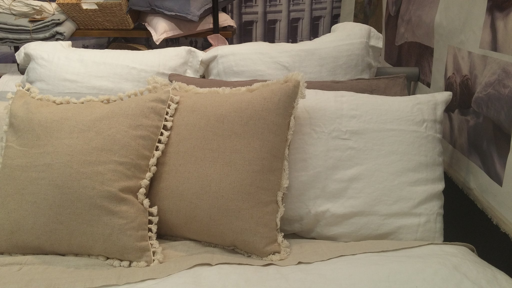 Pure Linen Cushion