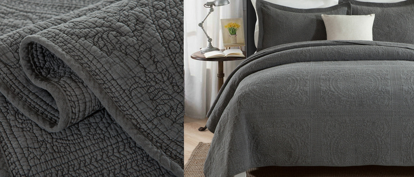 Stonewashed Coverlets & Bedspreads in Kirrawee, Sutherland & Sydney Australia