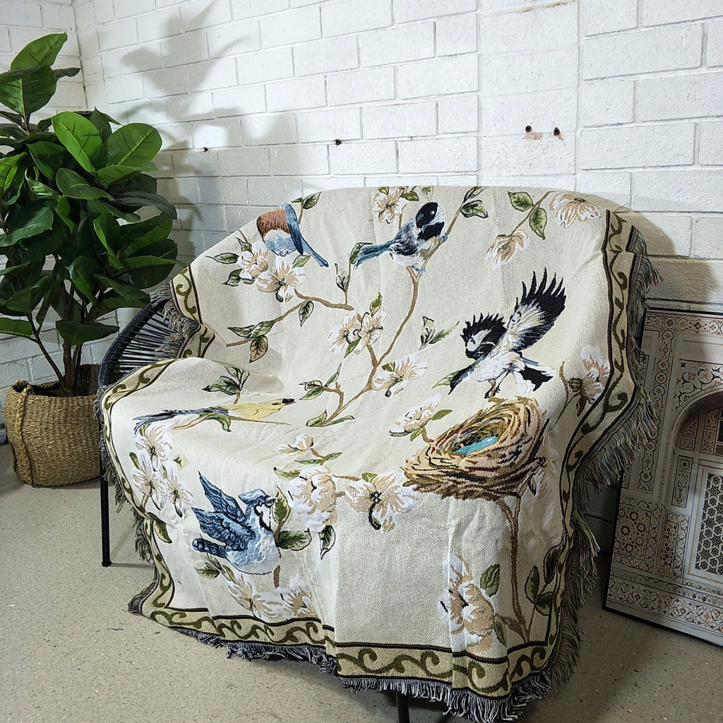 Decor Throw Rug- Secret Garden