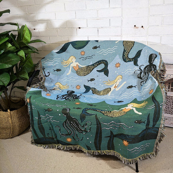 Decor Throw Rug- Little Mermaid