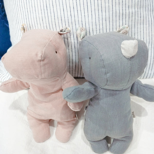 Oh-So-Nordic, pure French linen cuddly collection - Limited Edition