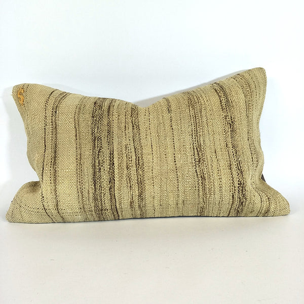 Artisan Turkish Kilim Décor Cushion- handwoven by the craftswomen of Anatolia-Z