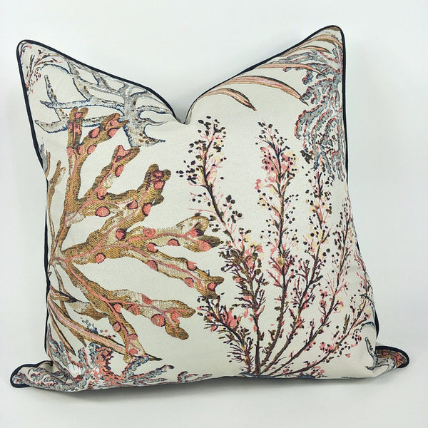 Coral Reef Cushion - Plush Feather Filled