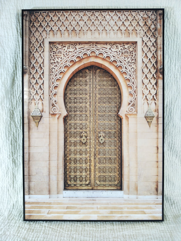 Morocco architecture Fine Print on Acrylic Glass
