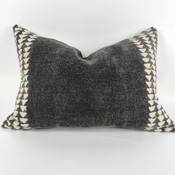 Nordic Chic Ethan Cotton Cushion Feather Filled 35x50cm