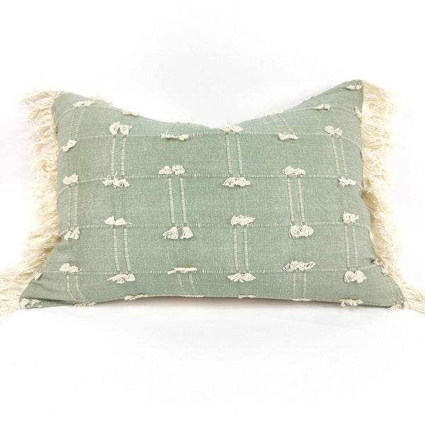 Nordic Chic Aaron Cotton Cushion Feather Filled 35x50cm