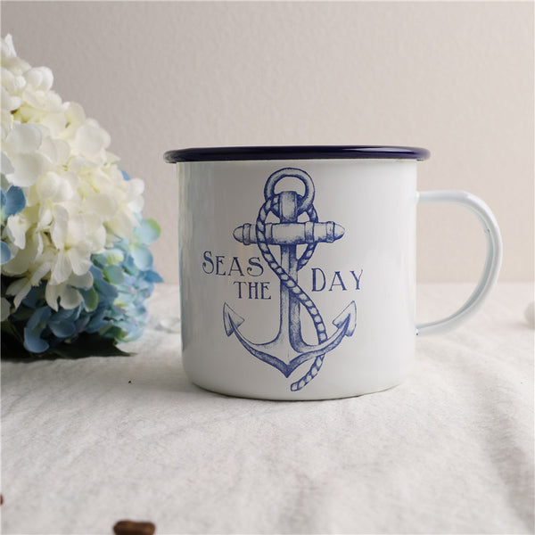 Enamel Cup Boutique Collection- SEAS The Day