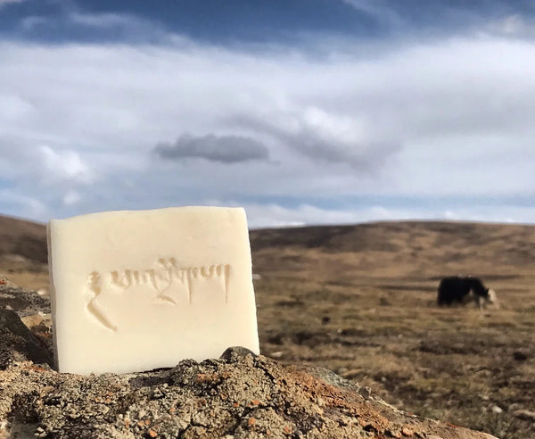 Tibetan Organic Yak Milk Handmade Soap from ཕ་འབྲོག་པ། Nomad Descendant