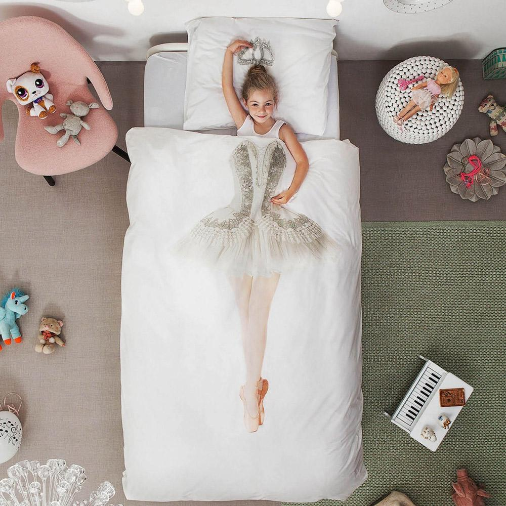 Ballerina single duvet cover Designed in Holland Made in Portugal