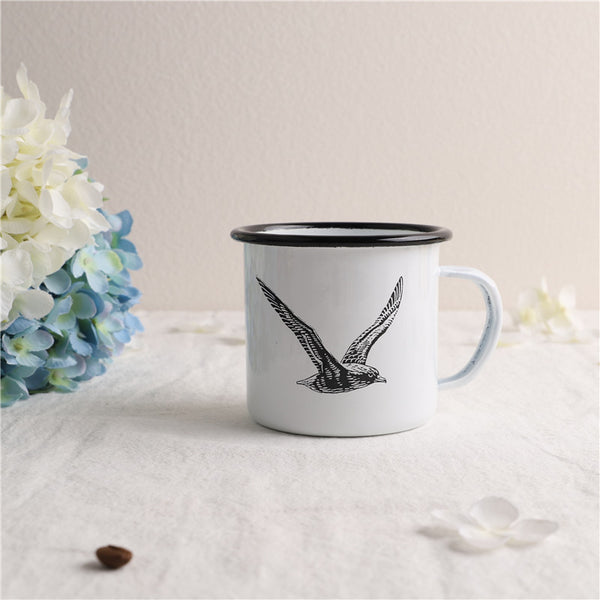 Enamel Cup Boutique Collection- Flying