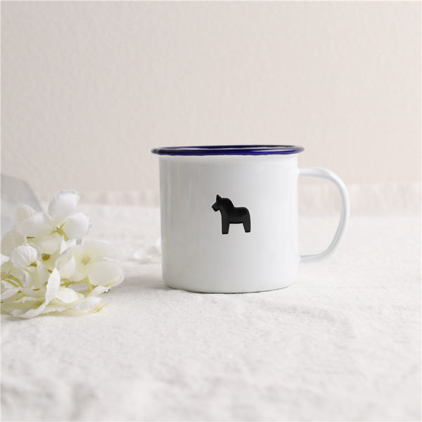 Enamel Cup Boutique Collection- Pony