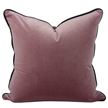 The Boulevarde Luxe Velvet Cushion Squrae 50cm - Grape