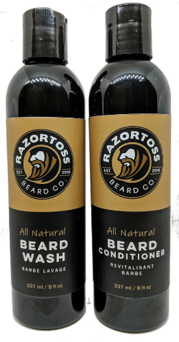 Beard Wash + Conditioner - Razortoss Beard Company