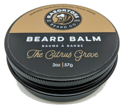 BEARD BALM - The Citrus Grove - Razortoss Beard Company