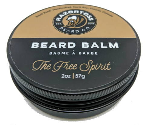 BEARD BALM - The Free Spirit - Razortoss Beard Company