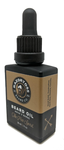 BEARD OIL - The Free Spirit - Razortoss Beard Company