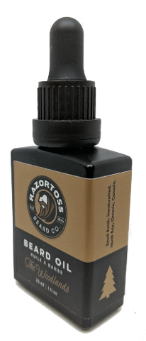 BEARD OIL - The Woodlands - Razortoss Beard Company