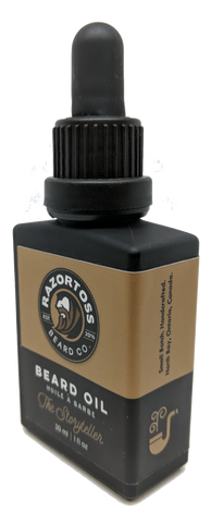BEARD OIL - The Storyteller - Razortoss Beard Company