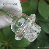 Volcanee 25mm XL Quartz Banger Nail with Spinning Carb Cap and Terp Pearl
