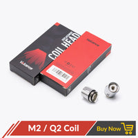 Volcanee Q2 M2 X4 T8 Coil for V8 Baby / V8 Big Baby Atomzier (5pcs/pack)