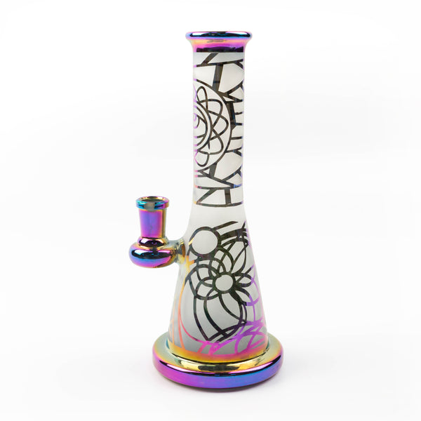 8.7inch Bong Heady Bongs mini Dab Rigs Water pipe Thick oil rigs wax smoking hookah bubbler pipes with 14mm joint