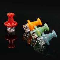 Volcanee Colorful Glass Carb Cap