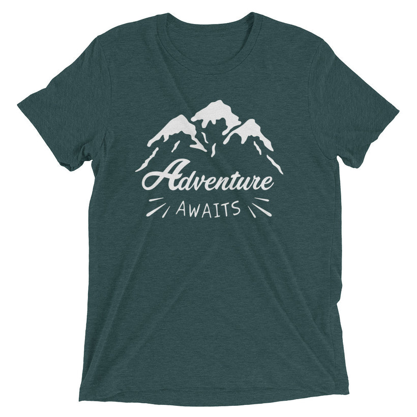 Adventure Awaits True Tri-Blend T-Shirt