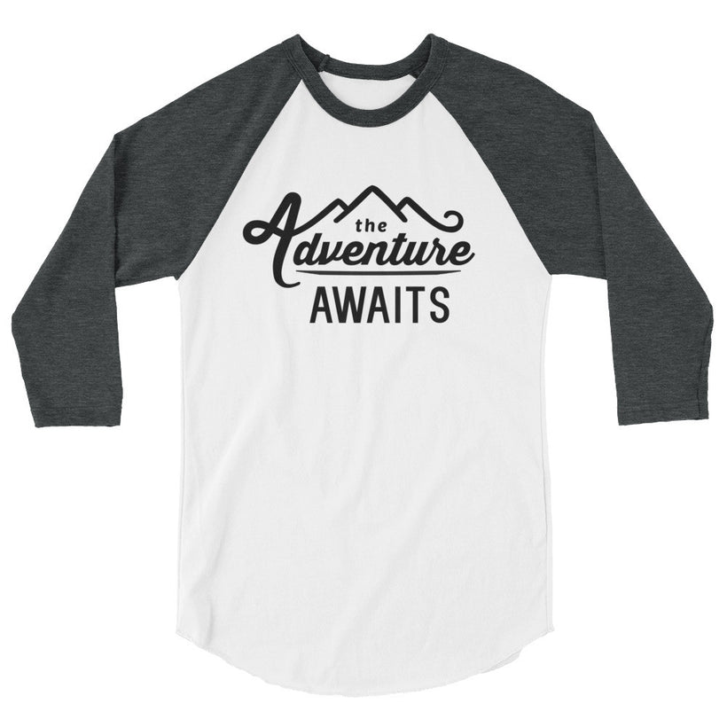 The Adventure Awaits 3/4 Sleeve Shirt