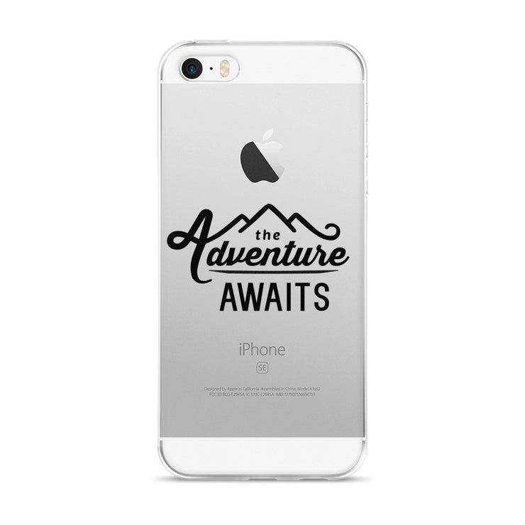 The Adventure Awaits iPhone 5/5s/Se, 6/6s, 6/6s Plus Case