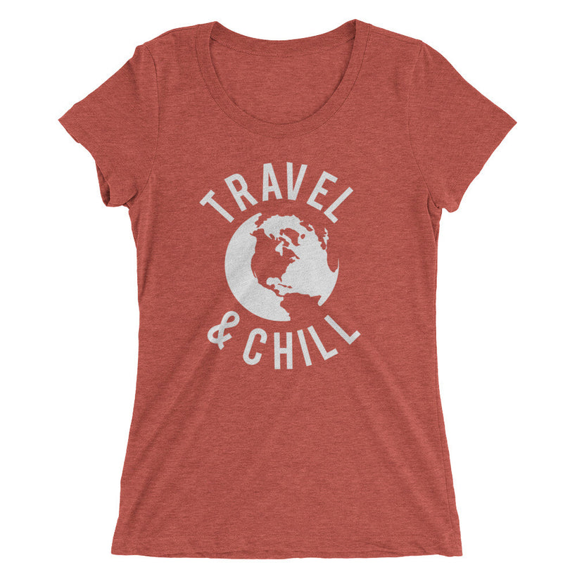 Ladies' Travel & Chill Tru Tri-Blend t-shirt