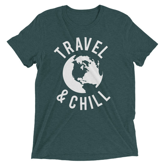 Travel & Chill True Trie-Blend T-Shirt