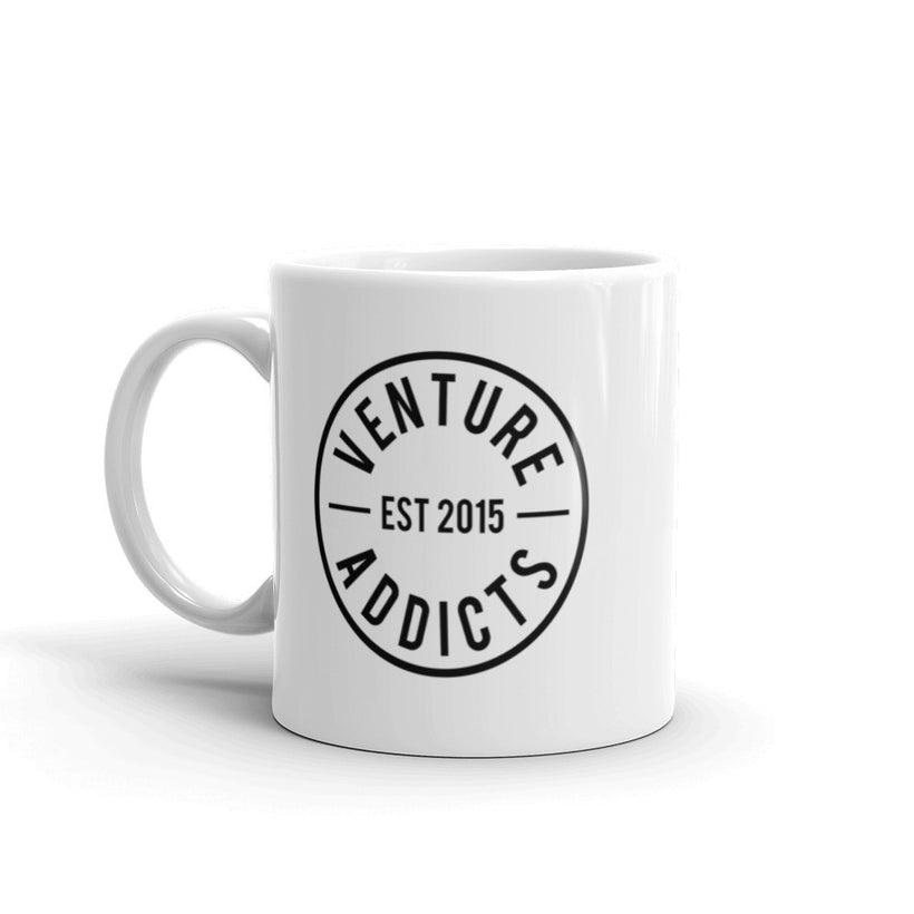 Venture Addicts Logo Mug