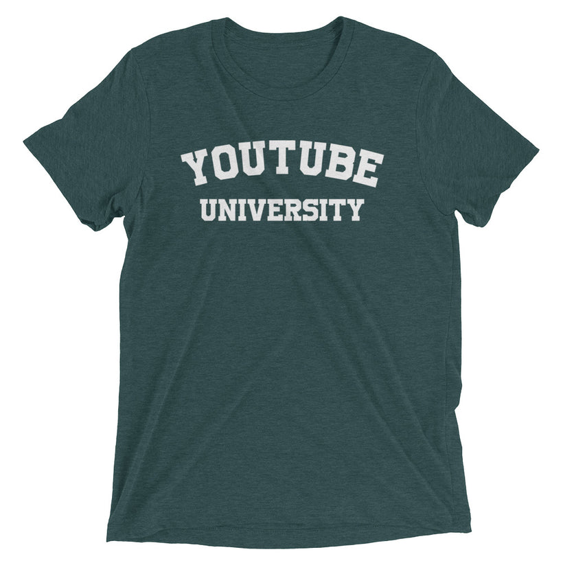 YouTube University True Tri-Blend T-shirt