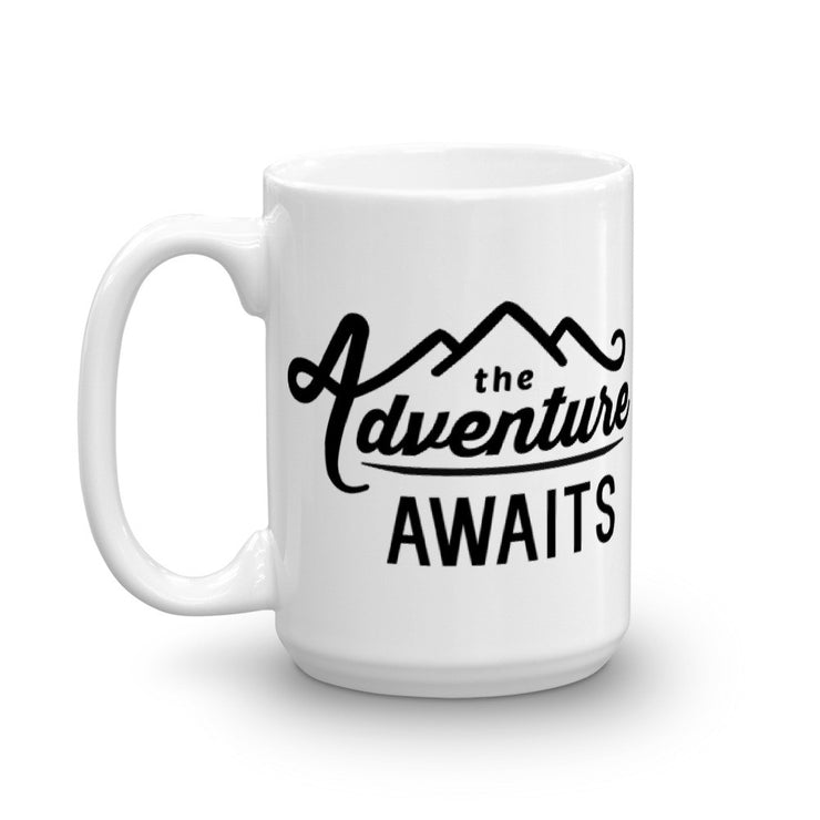 The Adventure Awaits Mug