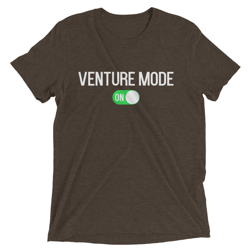 Venture Mode On True Tri-Blend T-Shirt