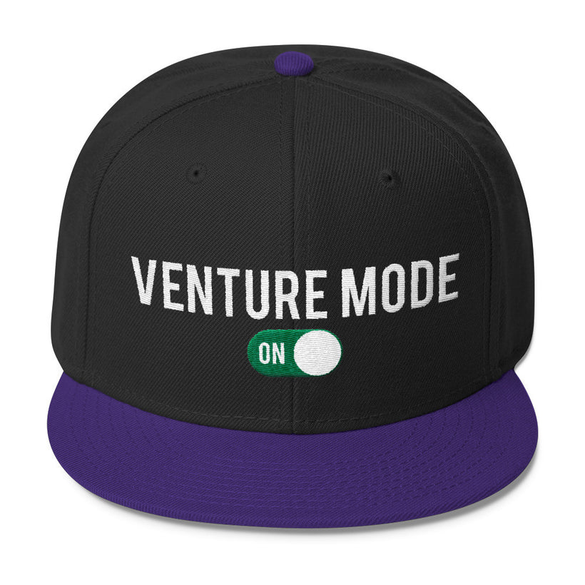 Venture Mode ON Wool Blend Snapback