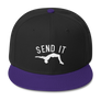 """Send It"" Wool Blend Snapback"