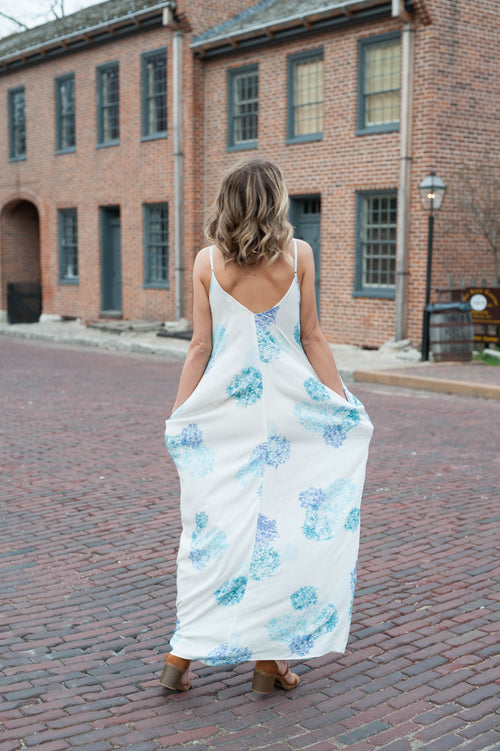Naples Cocoon Maxi Dress Dresses - IV Collection