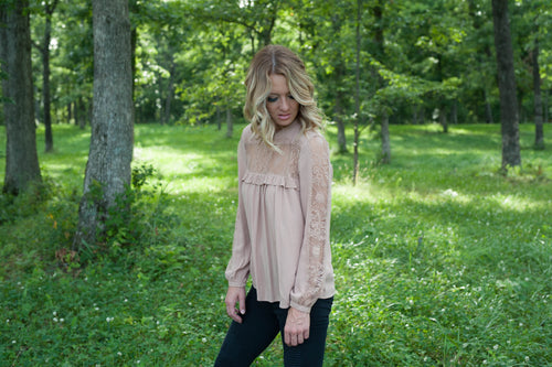 The Emily Blouse (Natural) Tops - IV Collection