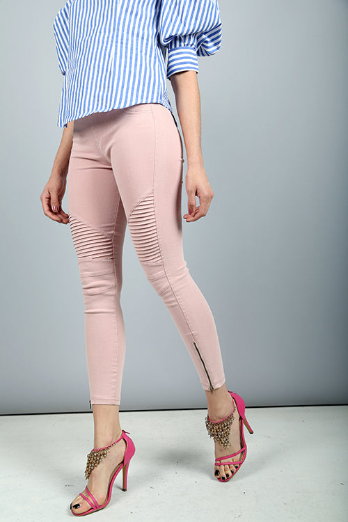 Lola Jeggins (Dusty Pink) Bottoms - IV Collection