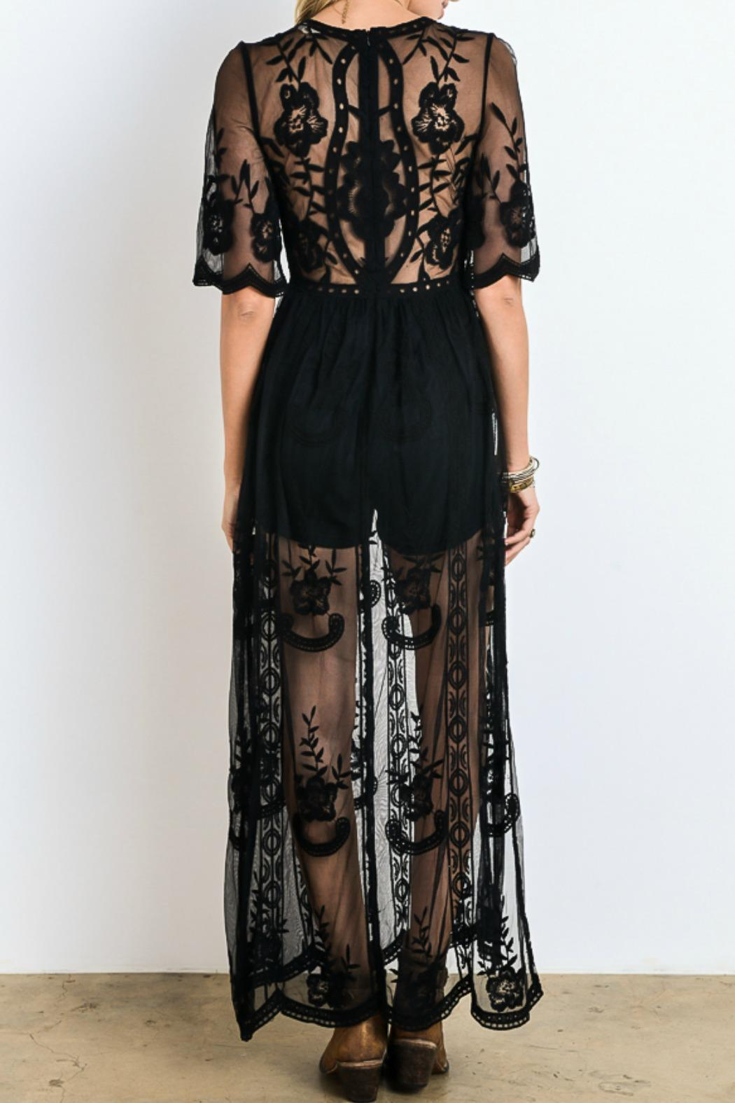 Riviera Maya Maxi Dress (Black) Dresses - IV Collection