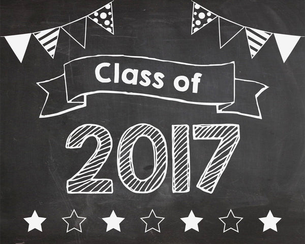 First Day of School signs - Class of 2017-2035 PRINTABLE