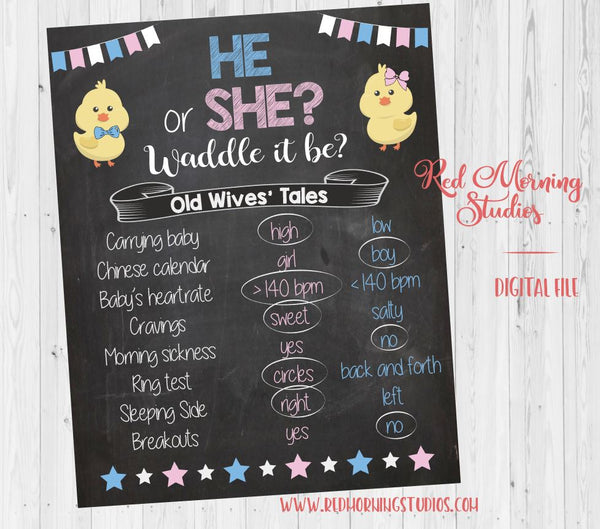 Spring Old Wives' Tales sign - PRINTABLE