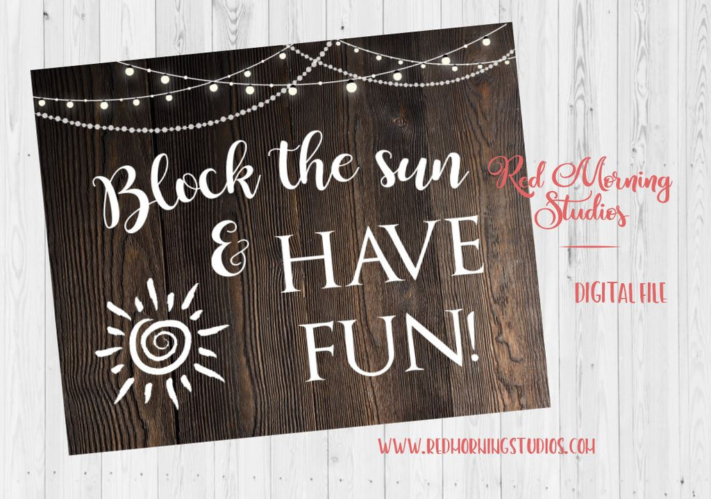 Sunblock wedding sign. Rustic Wedding sign. PRINTABLE. sunscreen favors. umbrella favors sign. Block the sun and have fun. Outdoor weddingSunblock wedding sign. Rustic Wedding sign. PRINTABLE. sunscreen favors. umbrella favors sign. Block the sun and have fun. Outdoor wedding