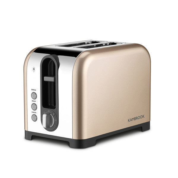 Extra Lift, Polished 2 Slice Toaster