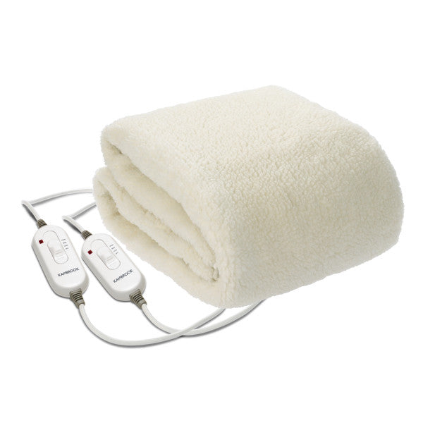 Dream Master Double Queen Fleecy Fitted Heated Blanket