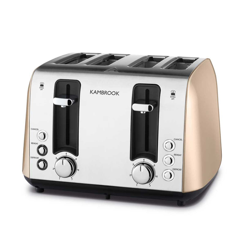Deluxe Collection 4 Slice Toaster