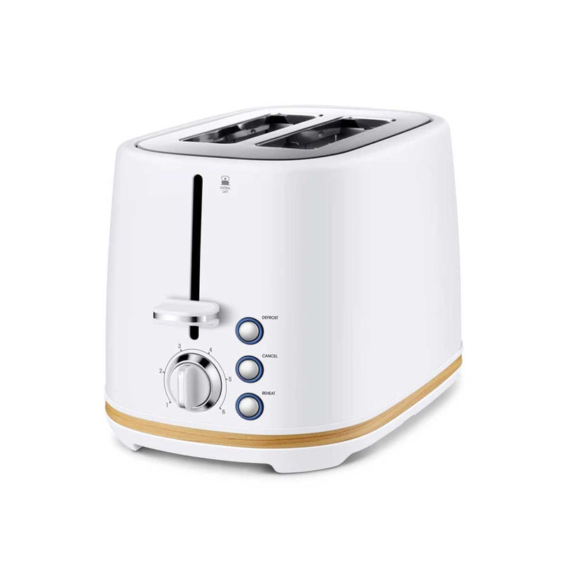 Scandi Chic™ 2 Slice Stainless Steel Toaster