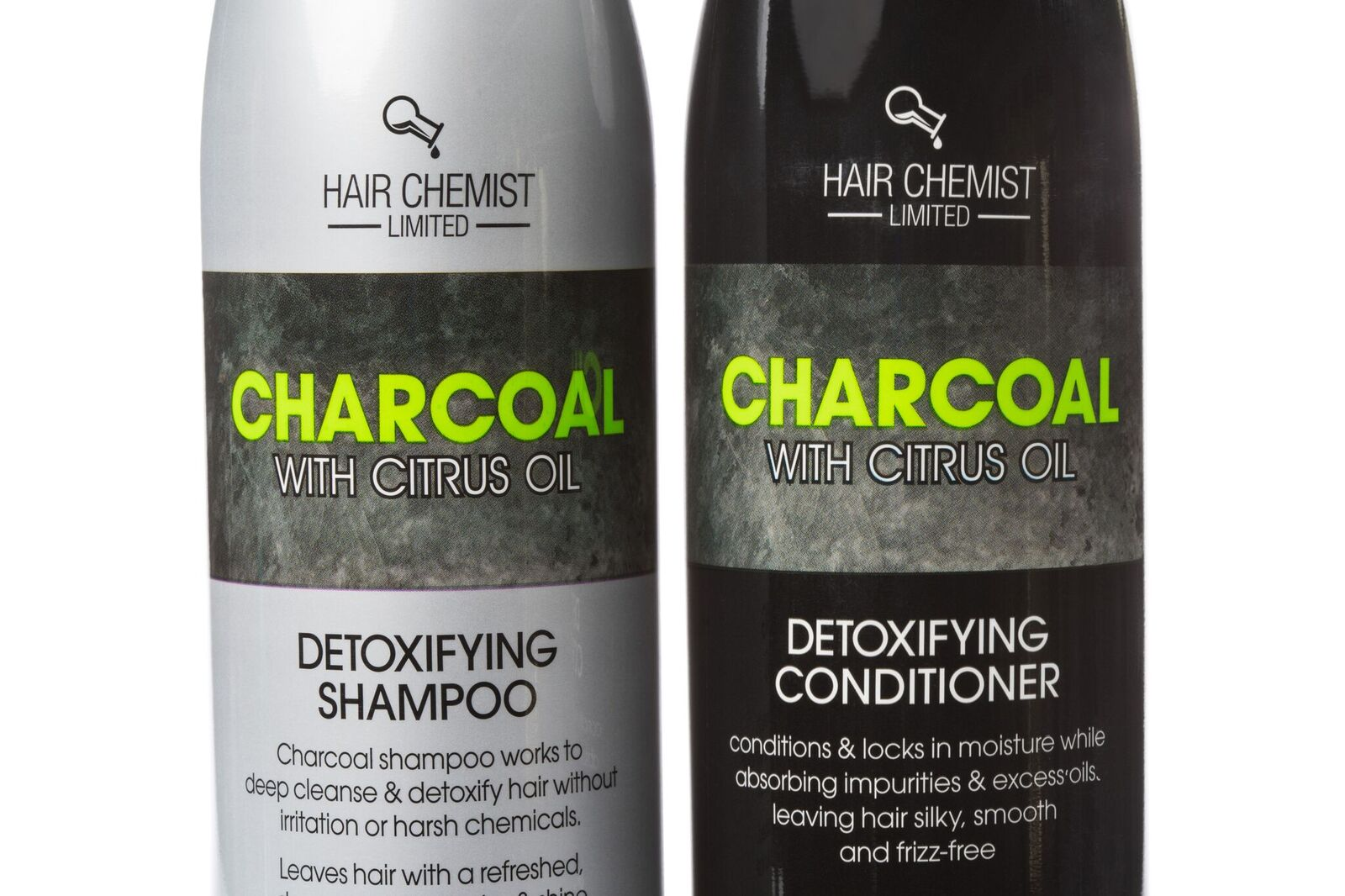 Charcoal Detoxifying Shampoo & Conditioner Kit